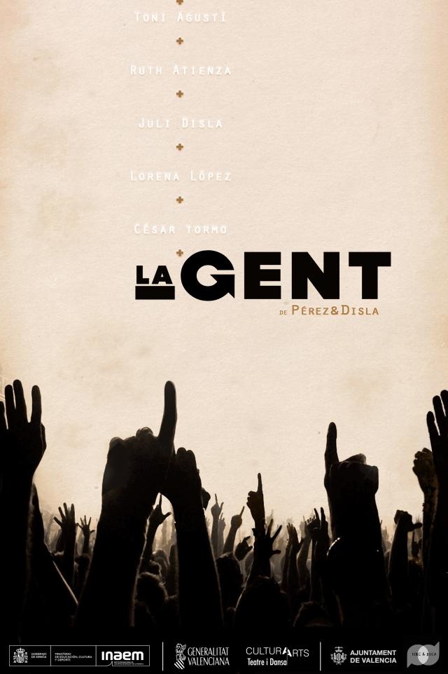 CARTELL LA GENT + logos
