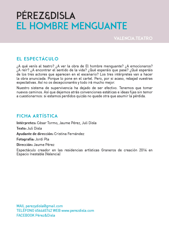 catalogo El HOMBRE menguante 2