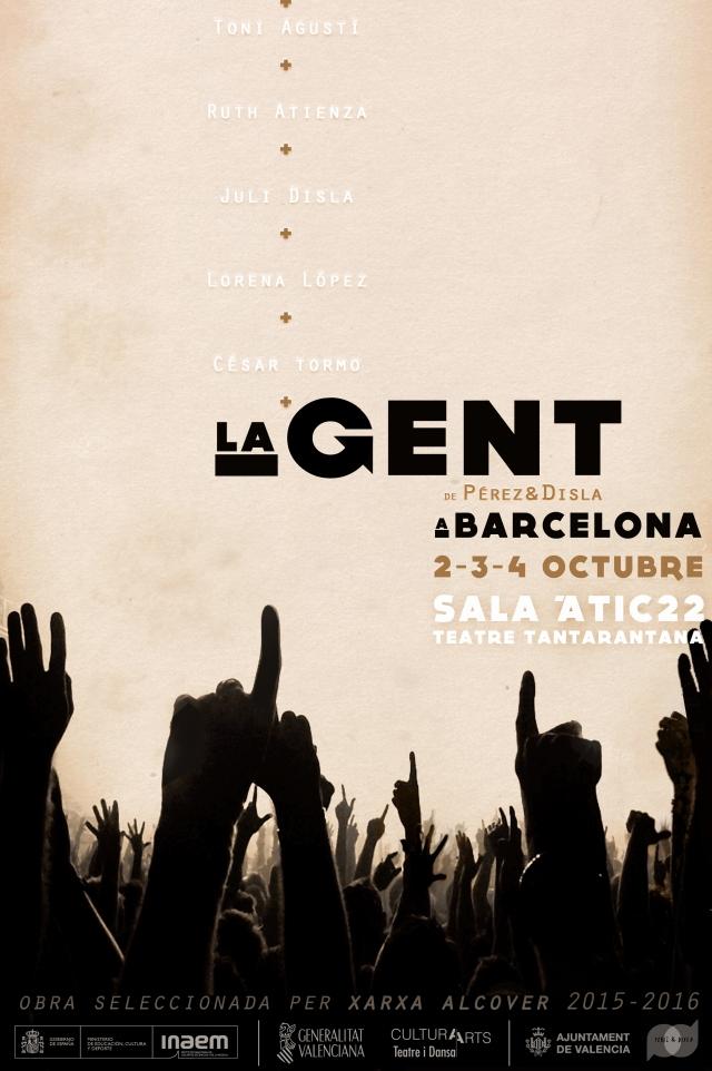 flyer LA GENT Barcelona